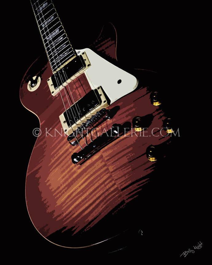 Guitar Art: The Classic Les Paul