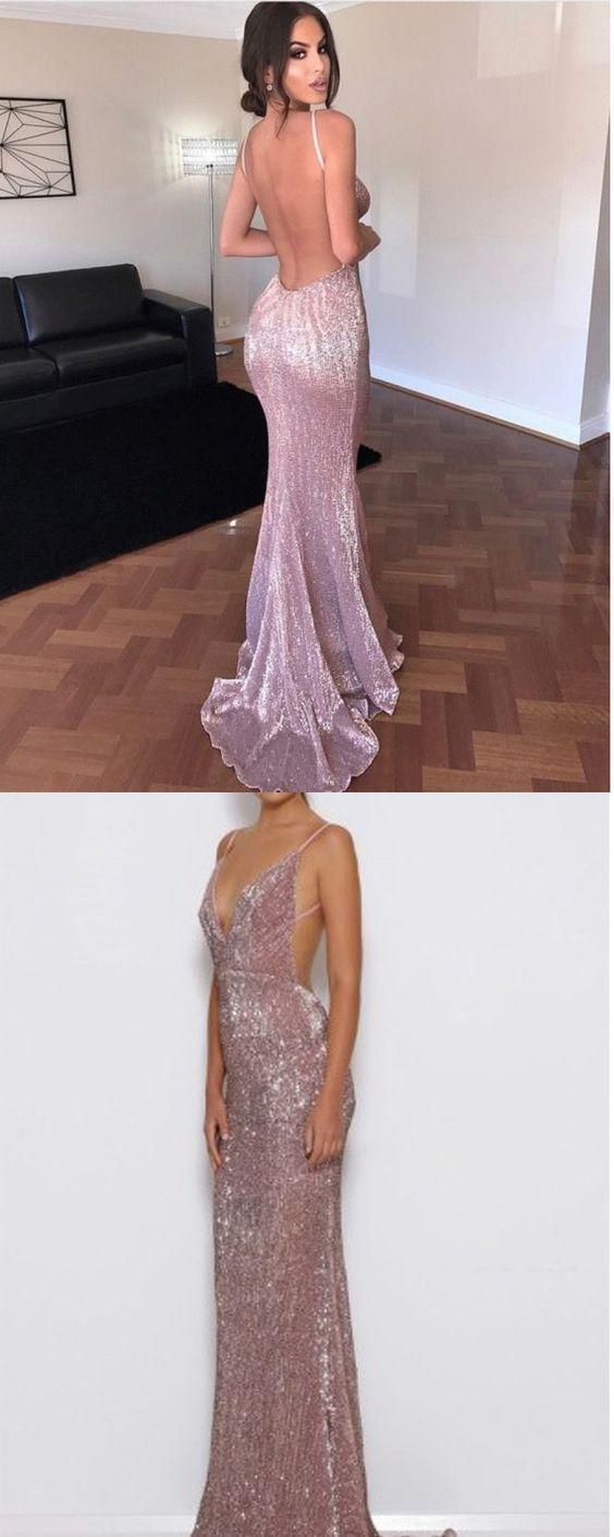 Open Back Prom Dress