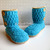 Pattern Pack for FOUR Buttoned Boots Crochet Patterns ALL sizes Crochet Pattern