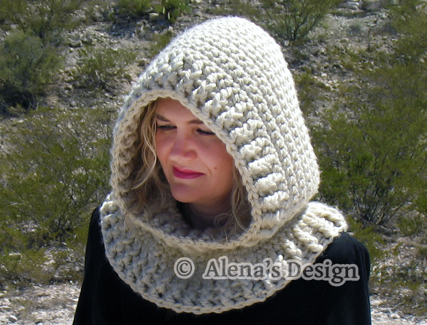 Crochet Pattern 113 Crochet Cowl Pattern By Alenasdesign On Zibbet