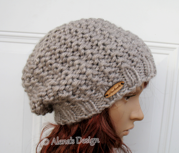 Knitting Pattern 059 Hat Knitting Pattern By Alenasdesign On
