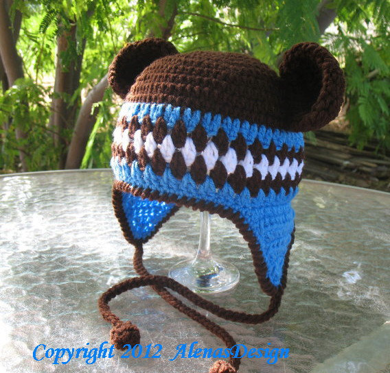 Crochet Pattern 053 - Crochet Hat Pattern - Hat Crochet Pattern for  Hat with