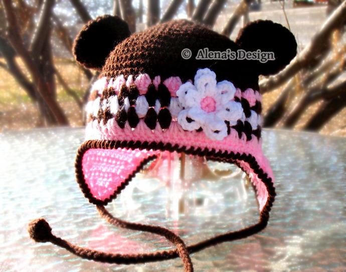 Crochet Pattern 001 - Crochet Hat Pattern - by AlenasDesign on Zibbet