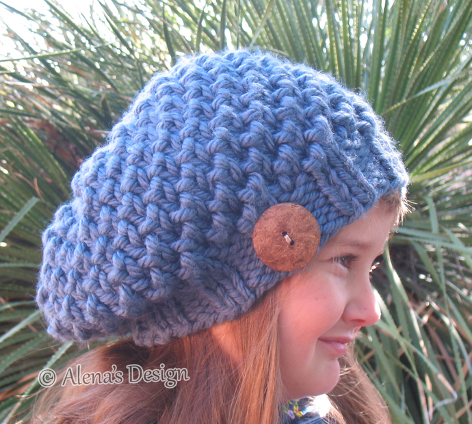 Knitting Pattern 094 - Hat Knitting Pattern - Knitting Hat Pattern for Kate