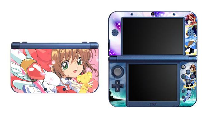 Card Captor Sakura NEW Nintendo 3DS XL LL, 3DS, 3DS XL Vinyl Sticker / Skin