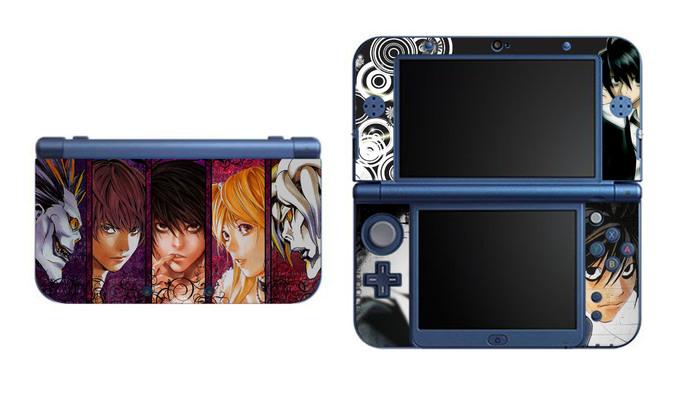 Death Note NEW Nintendo 3DS XL LL, 3DS, 3DS XL Vinyl Sticker / Skin Decal