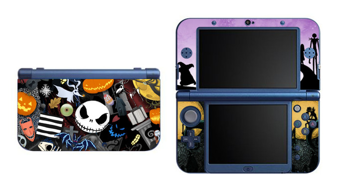 Nightmare Before Christmas NEW Nintendo 3DS XL LL, 3DS, 3DS XL Vinyl Sticker /