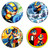 MEGAMAN EXE One Set wooden Drink Coasters