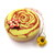 Tape Measure Yellow and Red Rose Retractable Measuring Tape