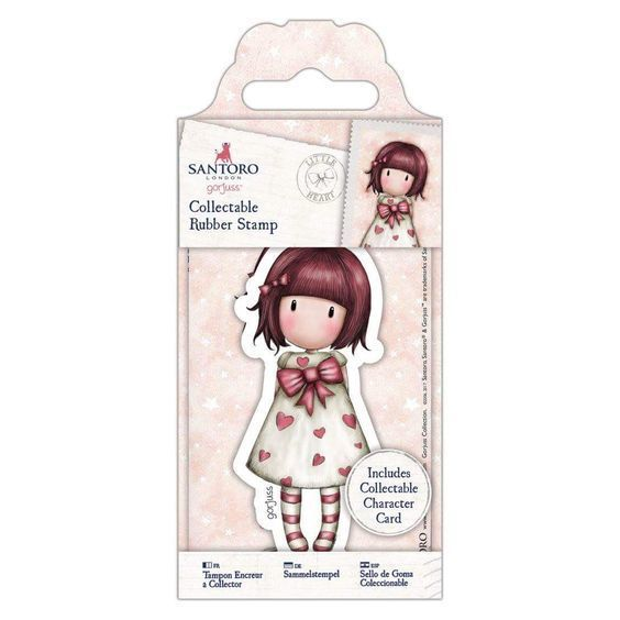 Gorjuss Girls Collectable Rubber Stamp #57 Little Heart