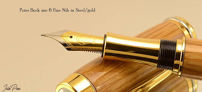 Peter Bock nibs for use with Irish Pens fountain pens