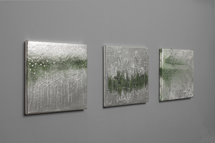 original mix media triptych on canvas,Original Fine Art Abstract , Contemporary