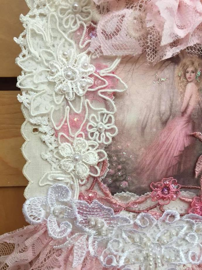 Kilt Pin Fairy Wall Hanging