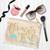 Flower girl Gifts, custom flower girl bag, Custom Makeup Pouch, personalized