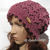 Knitting Pattern 204 Lace Slouchy Beanie Knitting Patterns Lace Hat Teen Adult