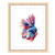 Fish Print, Betta Fish Painting, Betta Fish Art, Betta Fish Gift, Colourful