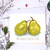 Pear Card, Watercolour Pear, We Make a Great Pear, Funny Card, Card for All