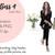 Girl Boss 4 - Dark Skin, Watercolour fashion illustration clipart