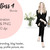 Girl boss 4 - Blonde Watercolour fashion illustration clipart