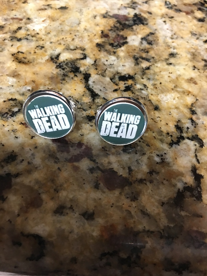 The Walking Dead Cuff Links