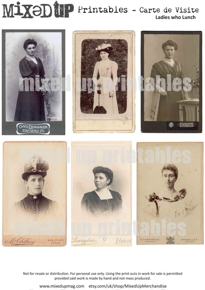 Mixed Ups Carte De Viste