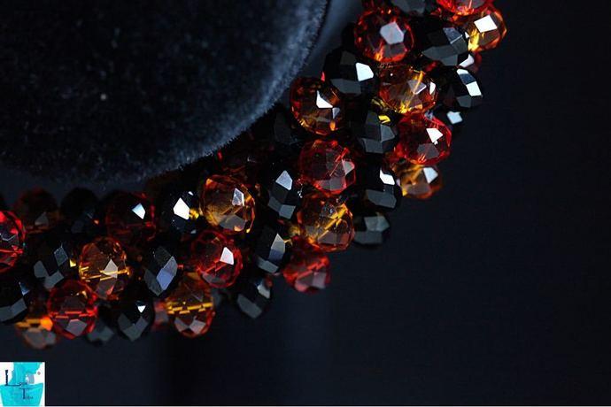 Colourful Kumihimo Beaded Bracelet