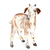 Goat Print, Watercolor Baby Goat, Farm Animal Print, Nursery Animal Art, Baby