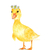 Flower Crown Farm Animals, Set of 4 Prints, Watercolor Farm Animals, Select 4