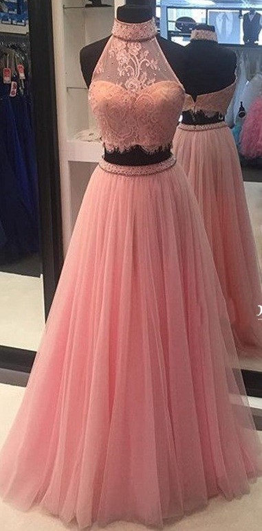 Sexy Prom Dress,Pink Prom Dresses,modest Prom Dress,2017 Prom Dresses,Sexy
