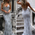 Sexy Mermaid Spaghetti Straps Deep V Neck Backless Long Gray Prom/Evening