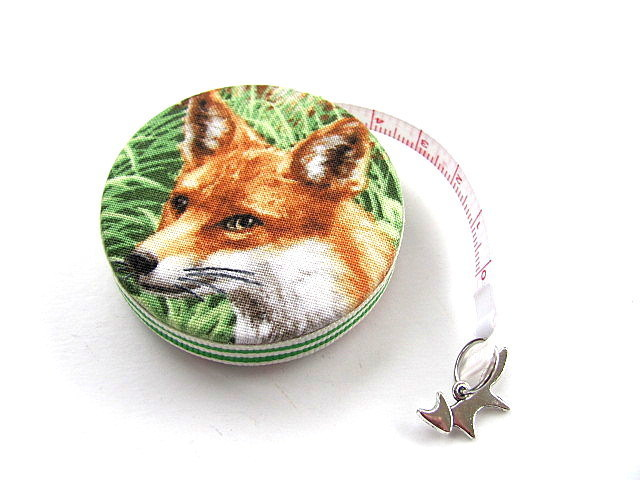Tape Measure Natural Foxes Retractable Measuring Tape