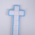 Large Easter Christmas White Box Stitch Cross Plastic Canvas