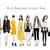 Watercolour fashion illustration clipart - Fashion Girls - Volume 13 - Dark skin