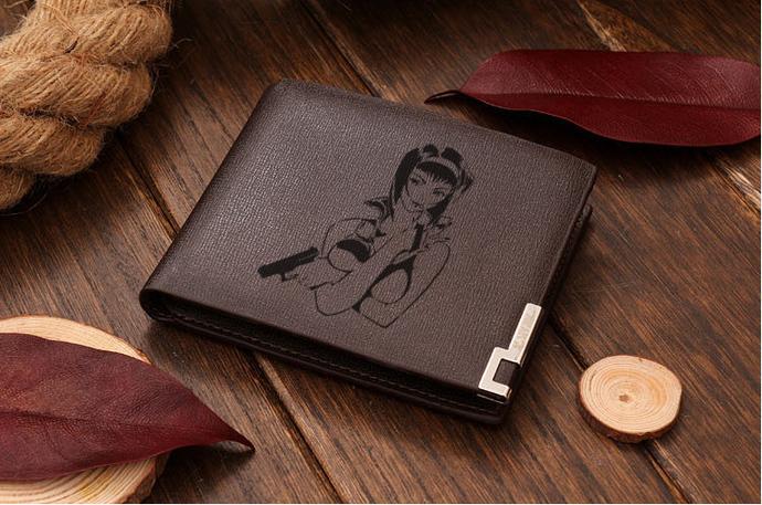 Cowboy Bebop Faye Valentine Leather Wallet