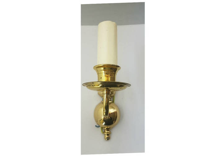 Vintage period lighting brass wall by ebor antiques limited on zibbet vintage period lighting brass wall lights 501wb polished brass hand cast and aloadofball Choice Image