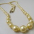 Vintage jewelry, faux pearl necklace