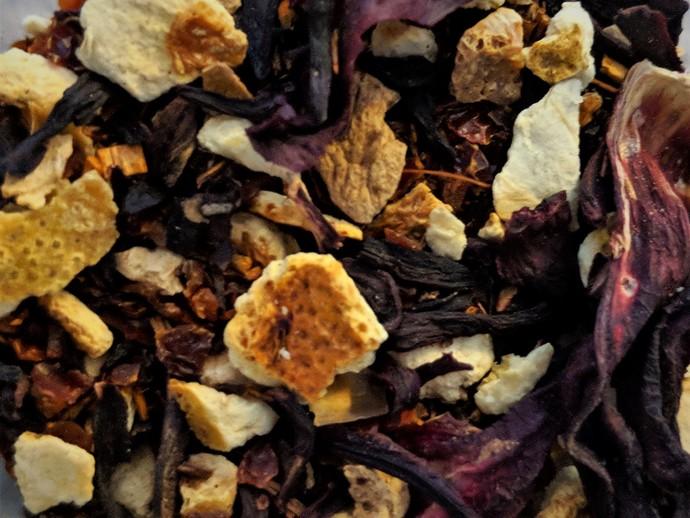 Organic Orange Rosehip Hibiscus Rooibos