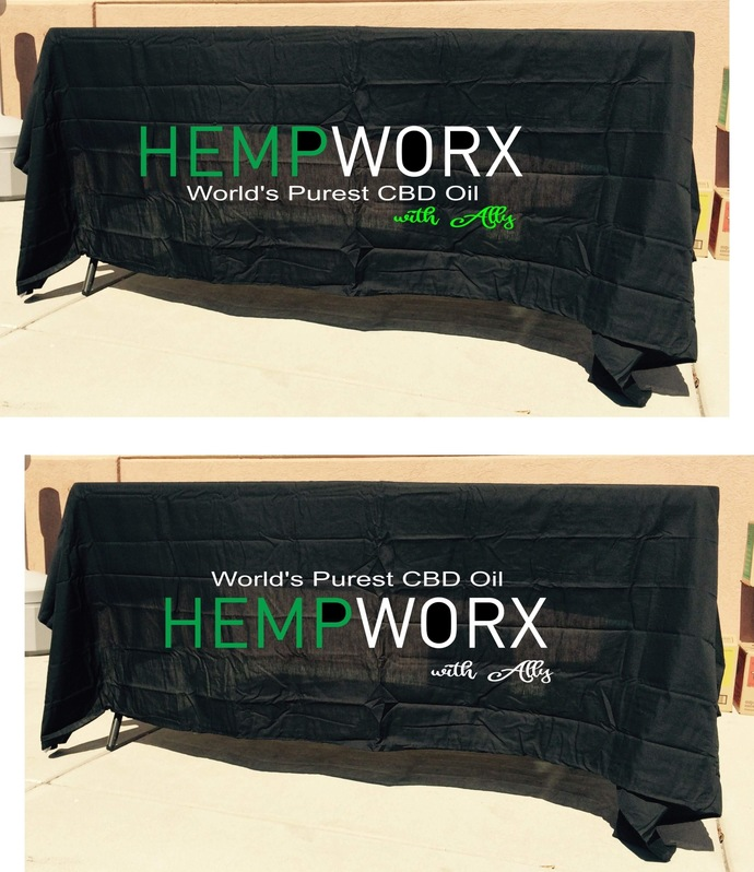 Hempworx tablecloth