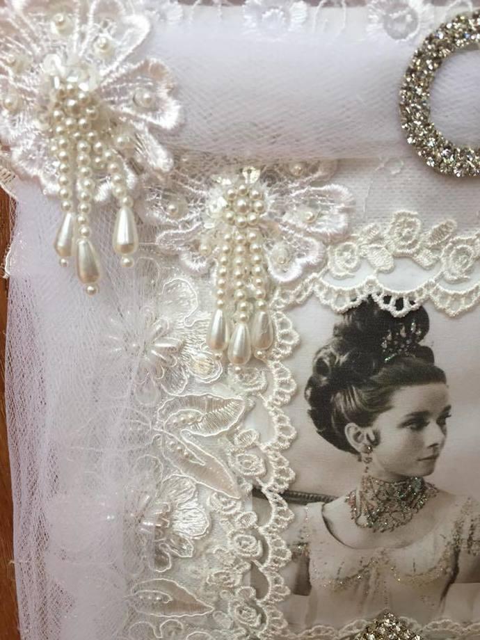 Audrey Hepburn Inspired Wall Hanging