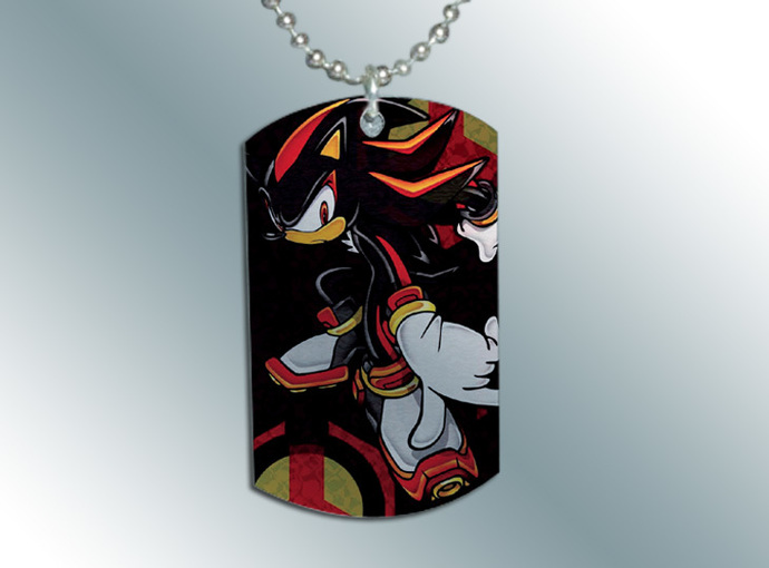 SHADOW THE HEDGEHOG Dog Tag Necklace