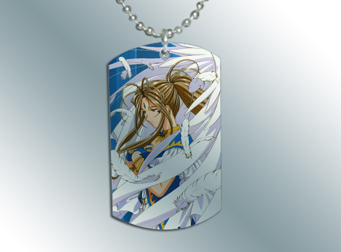 AH! My Goddess Dog Tag Necklace