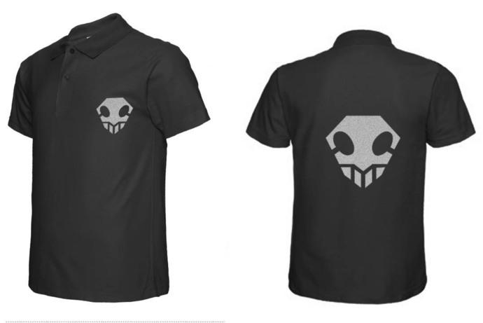 Bleach Hollow Symbol Polo T Shirt Tee By Goku On Zibbet