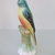 Vintage Hungarian  porcelain  bird figurine,parrot,hand painted