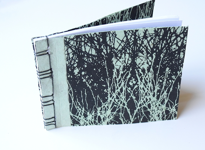 Grasses Japanese Stab Stitch Book