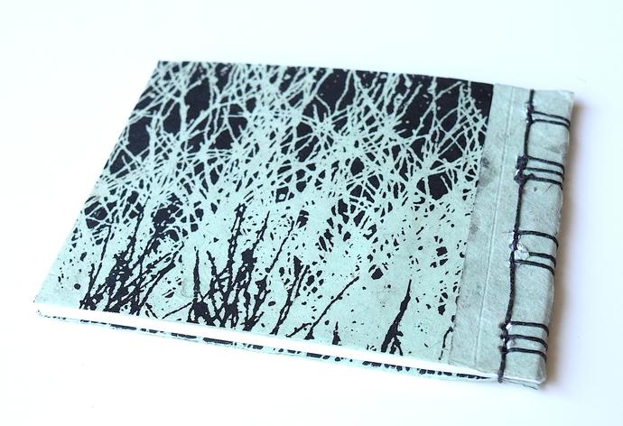 Grasses Japanese Stab Stitch Book