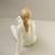 Vintage ,Hungarian Hollohaza porcelain nude lady,women,girl