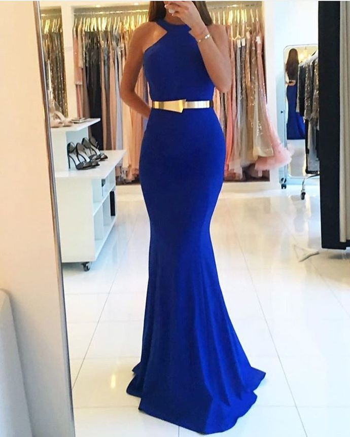 Charming Prom Dress, Royal Blue Prom Dresses, by prom dresses on