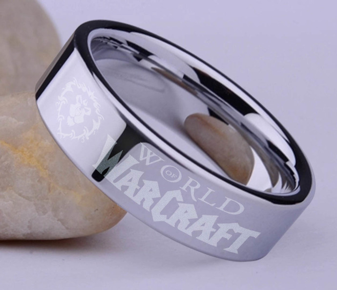World Of Warcraft WOW Alliance ring by GOKU on Zibbet