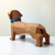 DIY Dachshund Puppy, Animal Model, 3d Papercraft, lowpoly ,3d model , Paper