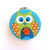Tape Measure with Lime, Orange and Blue Owls Retractable Measuring Tape